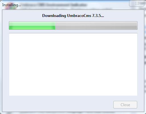 Downloading Umbraco