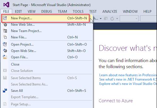 Installing Umbraco 7 (Part 1) - Setting up Visual Studio
